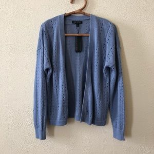 NWT Banana Republic Pointelle Cardigan L